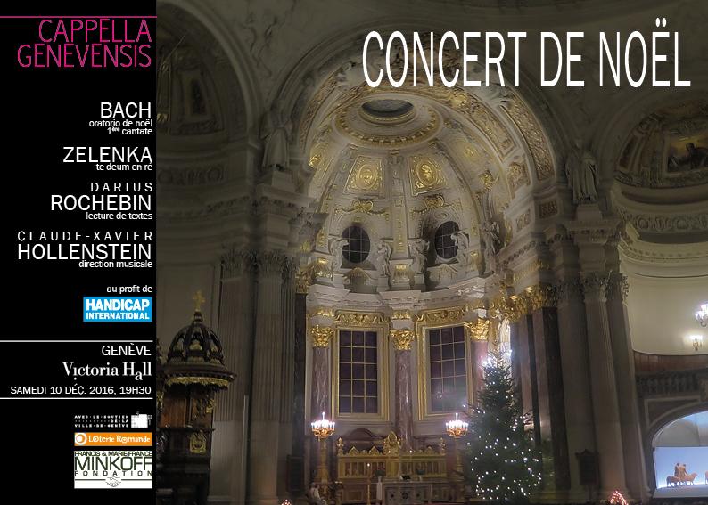Saison 2016-2017 Programme Concert de Noël 2016