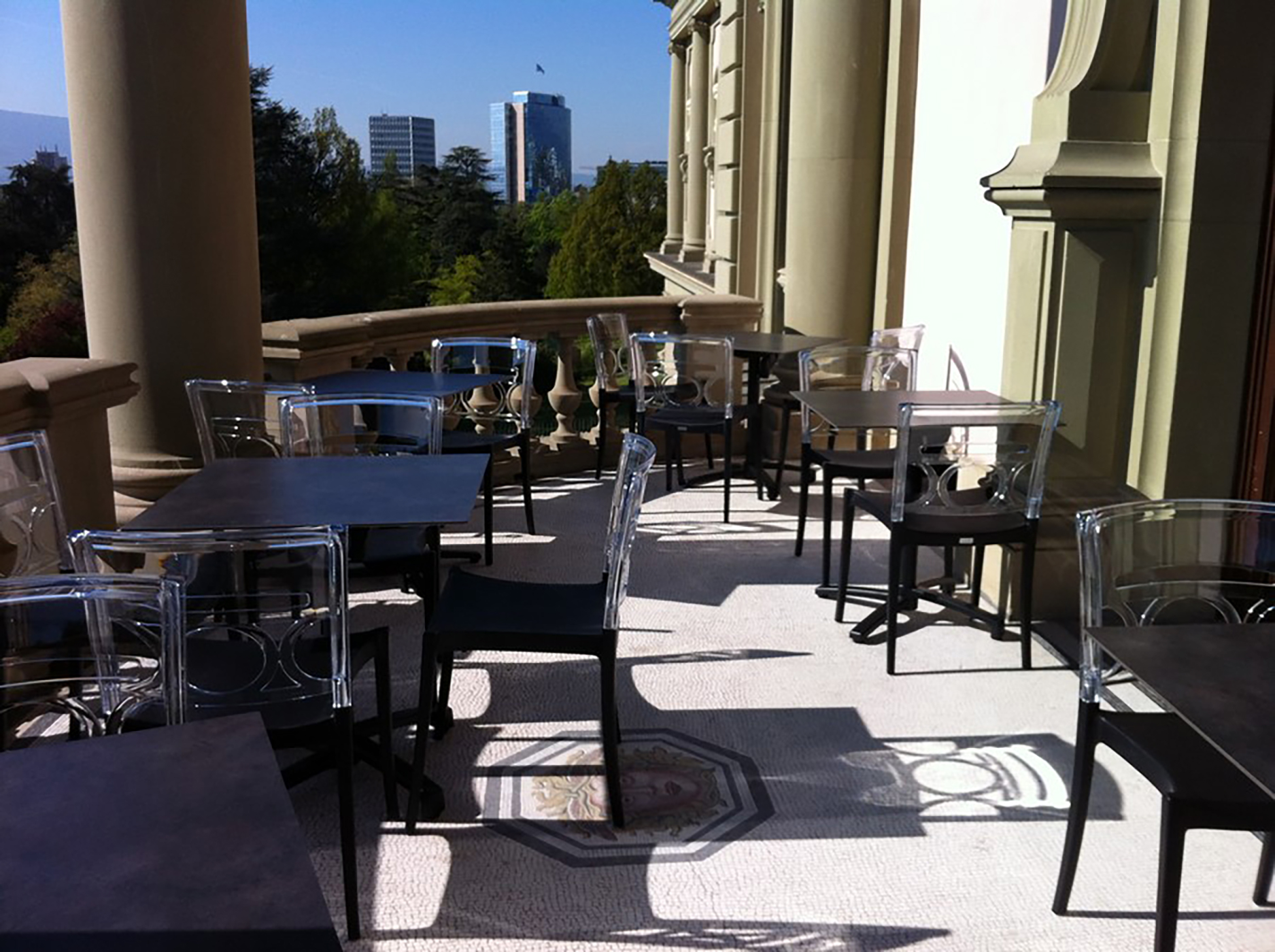Musée Ariana - Terrasse du Comptoir Gourmand