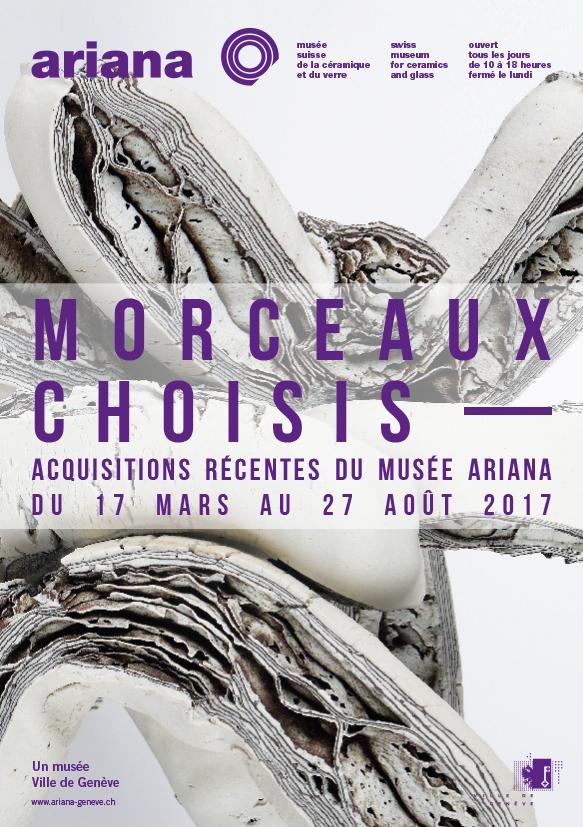 Musée Ariana Exposition Morceaux Choisis