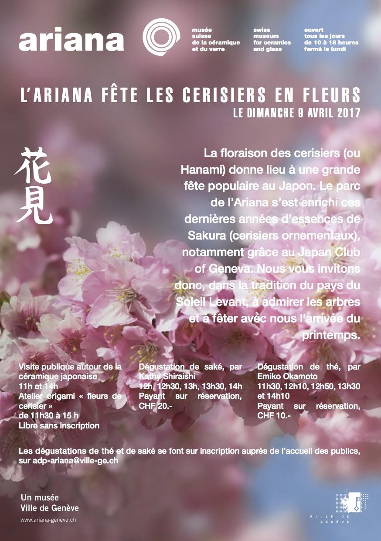 Musée Ariana Les Cerisiers en Fleurs