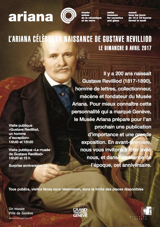 Musée Ariana Anniversaire de la naissance de Gustave Revilliod