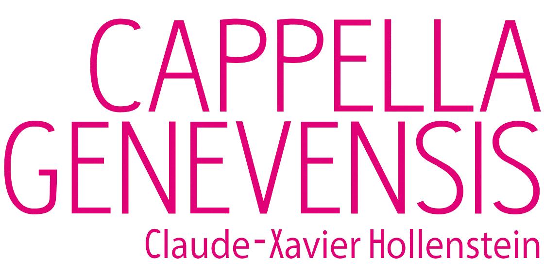 Logo Cappella Genevensis Claude-Xavier Hollenstein